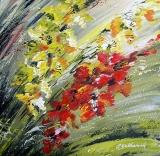 Olga Zakharova Art - Floral - Gladioluses Impression