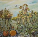 Olga Zakharova Art - Decorative Art  - Old Fence