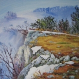 Olga Zakharova Art - Landscape - Canyon Side