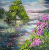 Olga Zakharova Art - Landscape - Magic Lake