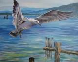 Olga Zakharova Art - Animals - Above the Sea