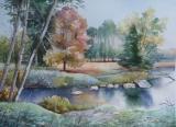 Olga Zakharova Art - Landscape - Deer Lake