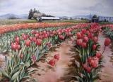 Olga Zakharova Art - Landscape - Tulips Festival