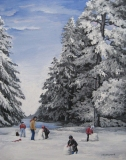 Olga Zakharova Art - Landscape - Winter Joy