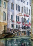 Olga Zakharova Art - Cityscape - Venetian Scene