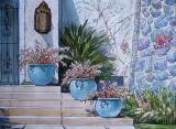 Olga Zakharova Art - Cityscape - Los Angeles Neighborhood
