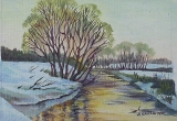 Olga Zakharova Art - Miniature - Yellow River