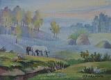 Olga Zakharova Art - Miniature - Horses