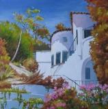 Olga Zakharova Art - Cityscape - Sunny California