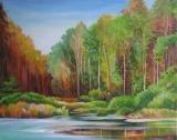 Olga Zakharova Art - Landscape - Verdurous Pond