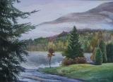 Olga Zakharova Art - Landscape - Buntzen Lake