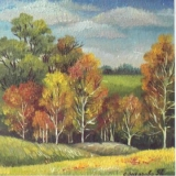 Olga Zakharova Art - Miniature - Autumn Gold