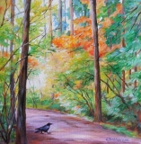 Olga Zakharova Art - Landscape - Crossing the Path