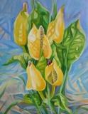 Olga Zakharova Art - Floral - Skunk Cabbage
