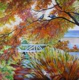 Olga Zakharova Art - Landscape - Autumn Conversation
