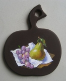 Olga Zakharova Art - Miniature - Pear and Grape