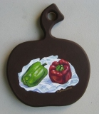 Olga Zakharova Art - Miniature - Peppers