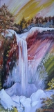 Olga Zakharova Art - Landscape - Frozen Waterfall
