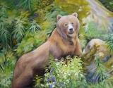Olga Zakharova Art - Animals - Bears in Alaska 1