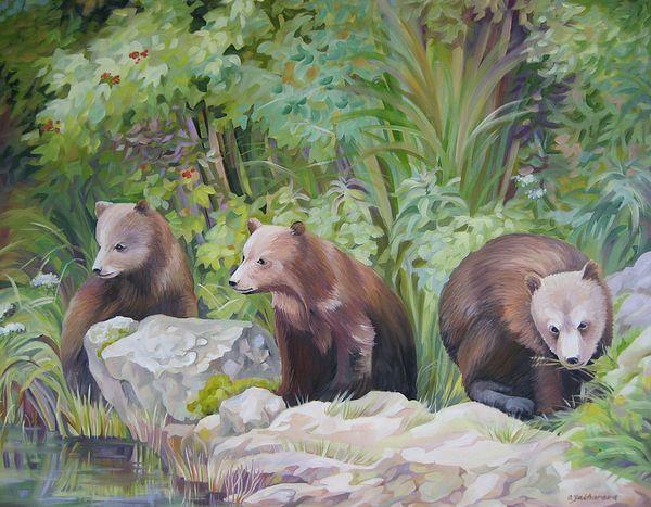 Bears in Alaska 2