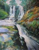 Olga Zakharova Art - Landscape - Waterfall