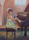 Olga Zakharova Art - Portrait - First Concert