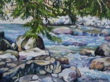 Olga Zakharova Art - Miniature - Lynn Valley River