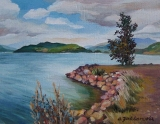 Olga Zakharova Art - Miniature - Harrison Lake
