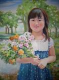 Olga Zakharova Art - Portrait - Monika