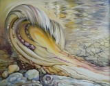 Olga Zakharova Art - Abstract - Birth of a Wave