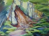 Olga Zakharova Art - Landscape - Old Stub
