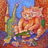 Olga Zakharova Art - Decorative Art  - After Party