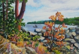 Olga Zakharova Art - Miniature - Pacific Shore