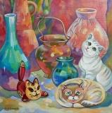 Olga Zakharova Art - Decorative Art  - On the Shelf