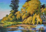 Olga Zakharova Art - Miniature - Boundary Bay park