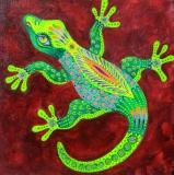 Olga Zakharova Art - Decorative Art  - Lizard