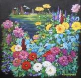 Olga Zakharova Art - Floral - Flower's Garden