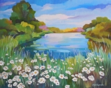 Olga Zakharova Art - Landscape - Alaksen National Wildlife Area
