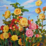 Olga Zakharova Art - Floral - Sunny Flowers