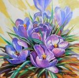 Olga Zakharova Art - Floral - Crocuses