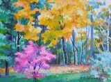 Olga Zakharova Art - Landscape - Colorful Autumn
