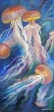 Olga Zakharova Art - Animals - Jellyfish Dansing