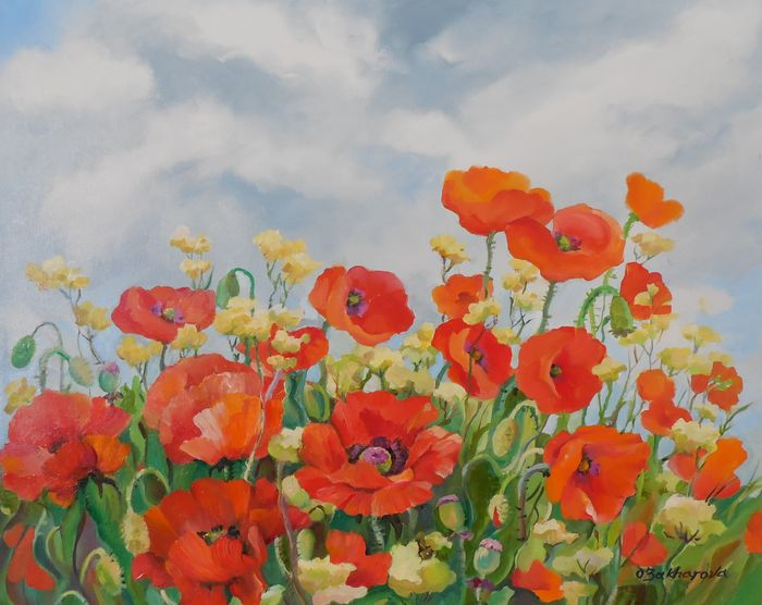 Red Poppies Fild