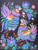 Olga Zakharova Art - Folk Art - Two Birds