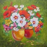 Olga Zakharova Art - Still Life - Sunny Pots 2