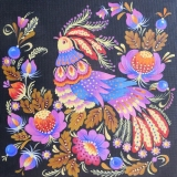 Olga Zakharova Art - Folk Art - Bird