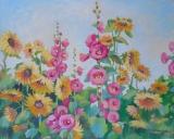 Olga Zakharova Art - Floral - Sunflowers Fild