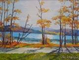 Olga Zakharova Art - Miniature - Padden Lake