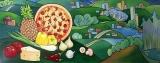 Olga Zakharova Art - Decorative Art  - Canadian Pizza interior wall