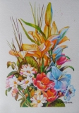 Olga Zakharova Art - Greeting Card - Greeting Card